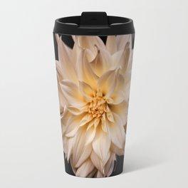 White isolated flower Travel Mug