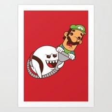Boo's revenge Art Print