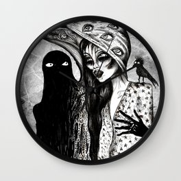 Dialogue With A Demon Wall Clock
