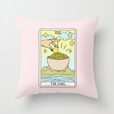 GUAC READING Throw Pillow