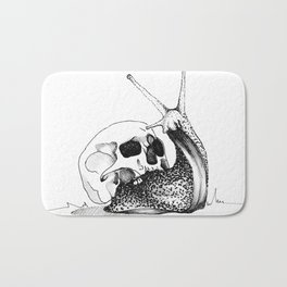 This Skull Is My Home Bath Mat