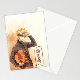 Orange Hurricane Stationery Cards