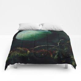 The Lunar Garden Comforters