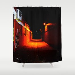 To Hell Shower Curtain