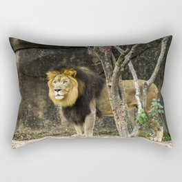 King of the Jungle Rectangular Pillow