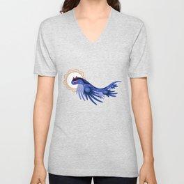 Blue dragon Unisex V-Neck