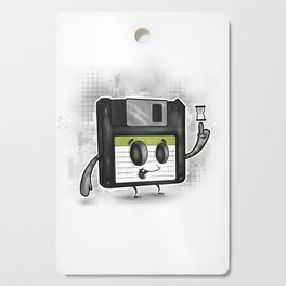 Floppy Disc Dave Cutting Board
