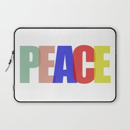 Peace (Color) Laptop Sleeve