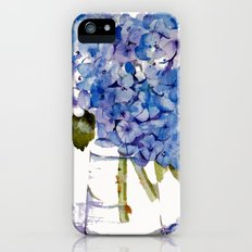 Hydrangea painting Slim Case iPhone (5, 5s)