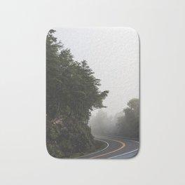 Roadway in Georgia #fog #nature #scene Bath Mat