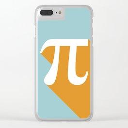 Retro Pi Clear iPhone Case