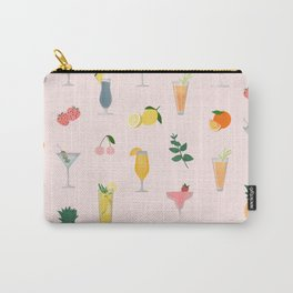 """Cocktails pattern"" Carry-All Pouch"