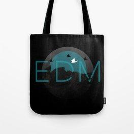 EDM Blue Tote Bag