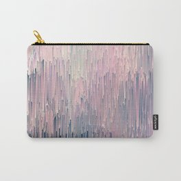 Blush Glitches Carry-All Pouch