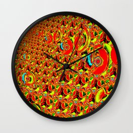 An universe of exhilaration ... Wall Clock