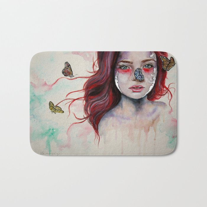 Where There Are Butterflies  Bath Mat