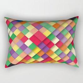 autumn rectangles Rectangular Pillow