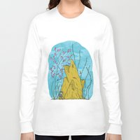 the life aquatic Long Sleeve T-shirts featuring Our Life Aquatic by Hamburger Hands