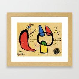 From the famous feline artist, Joan Miow-ro' Framed Art Print