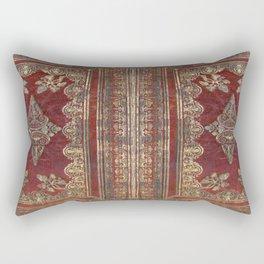 Tarnished Brass Book Cover Rectangular Pillow