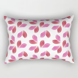 Hot Petals Rectangular Pillow
