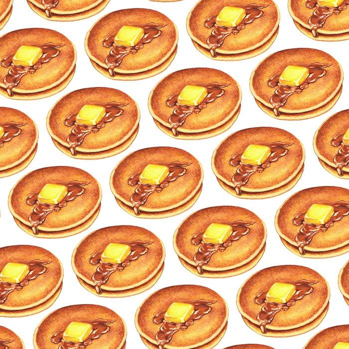 Pancakes Pattern Leggings