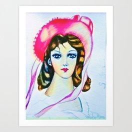 Pinkie remix Art Print