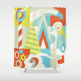 Home Away Shower Curtain