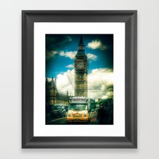 Piccadilly Whip Framed Art Print