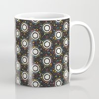 sewing Mugs featuring sewing pins by kociara