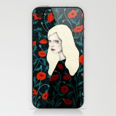 Poppy iPhone & iPod Skin