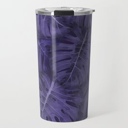 ULTRA VIOLET MONSTERA, by Frank-Joseph Travel Mug