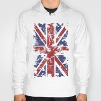 uk Hoodies featuring Grunge UK by Sitchko Igor