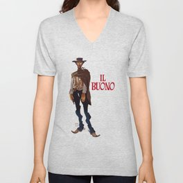 Il buono. The good, the bad and the ugly Unisex V-Neck
