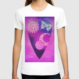 Purple Pretty Ouija Planchette, Occult Art, Ouija Art T-shirt