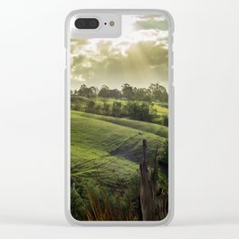 Strzelecki Station #1 Clear iPhone Case