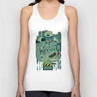 ghostbusters Tank Tops featuring Ghostbusters by Ale Giorgini