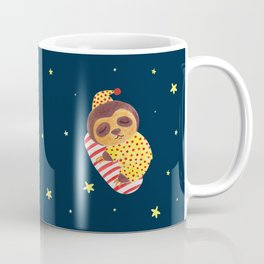 Sleeping Like a Sloth Coffee Mug
