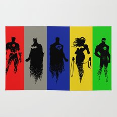 Justice Silhouettes Rug