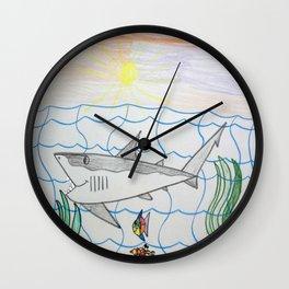 Ocean Sunrise Wall Clock