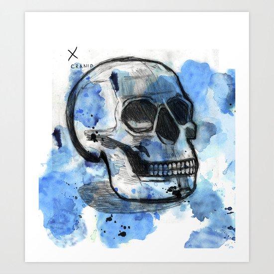 Cranio Art Print