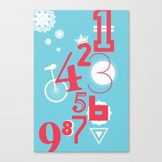 123... Canvas Print
