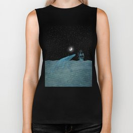 The Whale and the Sea Biker Tank