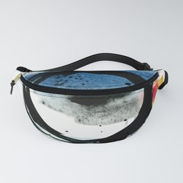 Enso Abstraction o. 113 by Kathy Morton Stanion Fanny Pack