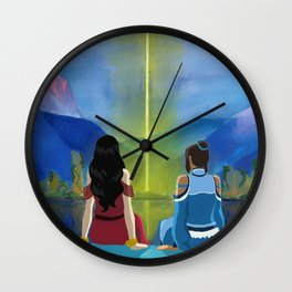 A Korrasami Moment Wall Clock