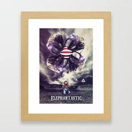 Elephantastic Framed Art Print