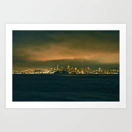 VIEW FROM FORT BAKER I Art Print