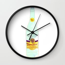 Topo Chico Sparkling Water Seltzer Bottle Wall Clock