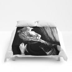 asc 674 - La visite galante (Enjoying the visit) Comforters