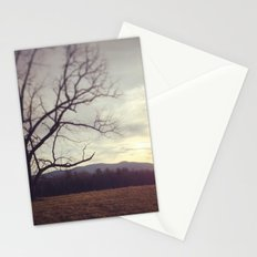 Golden Mountains Stationery Cards